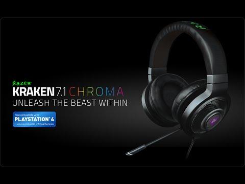 """#4STRO-Review Et Unboxing """"Razer Kraken Chroma 7.1"""""""