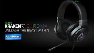 "#4STRO-Review Et Unboxing ""Razer Kraken Chroma 7.1"""