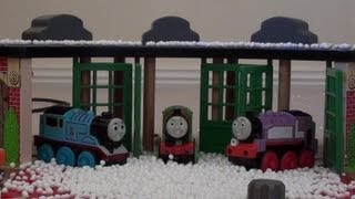 getlinkyoutube.com-Thomas the Tank Engine and Friends Snow Adventure