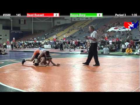 FSN 145: Reed Russell (Fort Dodge Wrestling) vs. Rocco Borg (Fort Dodge Wrestling)
