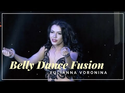 Amazing Belly Dance Fusion - Arabic Cover Version Robbie Williams - Feel  (Yulianna Voronina Dancer)
