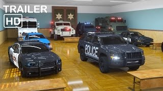 getlinkyoutube.com-Sergeant Cooper the Police Car 2  - Trailer -  Real City Heroes (RCH) | Videos For Children
