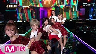 getlinkyoutube.com-[2016 MAMA] TWICE - CHEER UP + TT