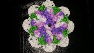 getlinkyoutube.com-flor de 8 petalos a crochet