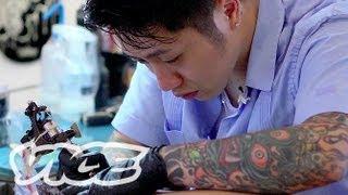 getlinkyoutube.com-大阪のタトゥーアーティスト MUTSUO 3/3 - Tattoo Age: Mutsuo Part 3