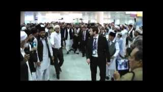 Holy Man of Islam: Shayukh of Eidgah Sharif Arrival At Heathrow Airport Uk and Europe Dhora 24/08/13