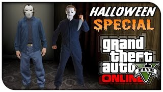 getlinkyoutube.com-GTA 5 Online - FASHION FRIDAY! (Freddy Krueger, Micheal Myers & Jason) [GTA V Cool Outifts]