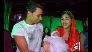 getlinkyoutube.com-مى كساب واوكا وشحتة كاريكا فى عقيقة ابنة اورتيجا ريانا