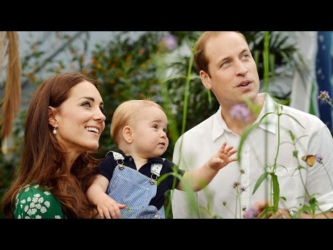 The U.K.'s Prince George Celebrates First Birthday