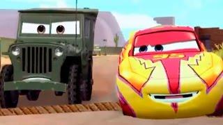 getlinkyoutube.com-CARS - Sarge's Off-Road Challenge | Disney / Pixar | Movie Game | Walkthrough #9 | *PC GAME*