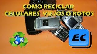 getlinkyoutube.com-Que podemos hacer con un celular viejo o roto, Reciclado de moviles telefono