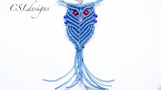 getlinkyoutube.com-Wise macrame owl