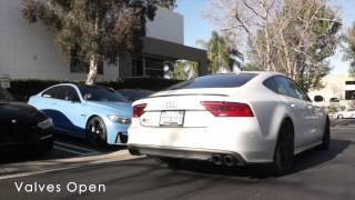 getlinkyoutube.com-Akrapovic Audi S6 + S7 4.0T | Evolution Line Titanium Exhaust System | TAG Motorsports