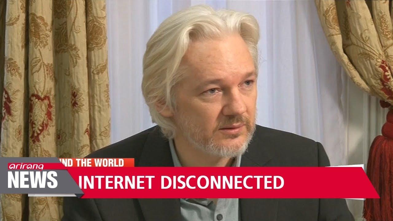 Akses Internet Pendiri Wikileaks Diputus Kedutaan Ekuador