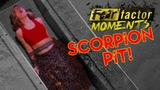 getlinkyoutube.com-Fear Factor Moments | Scorpion Pit