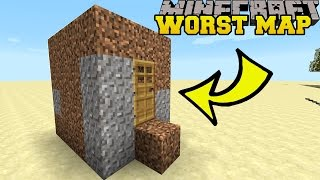 getlinkyoutube.com-Minecraft: THE WORST MINECRAFT MAP EVER?! - BAD MAP - Custom Map