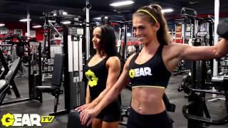 getlinkyoutube.com-IFBB Pro Bikini Athletes Lacey DeLuca and Caryn Nicole Paolini: Butt, Back & Arms!