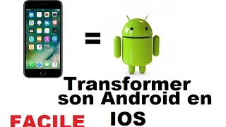 getlinkyoutube.com-Comment transformer son ANDROID en IOS !!! Tuto#1