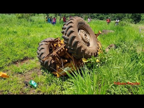 Agricultores aprendem a evitar acidentes com tratores