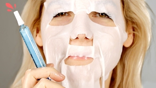 People Try An Injection Face Mask