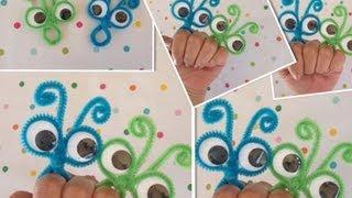getlinkyoutube.com-ANILLOS LOCOS  IDEALES PARA LOS NIÑOS .- PIPE CLEANER CRAZY RINGS.