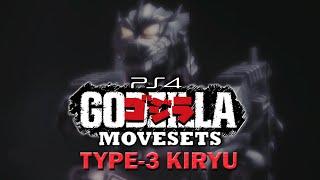 getlinkyoutube.com-TYPE-3 KIRYU Moveset - Godzilla The Game [PS4]