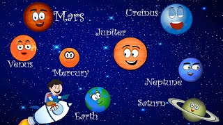 getlinkyoutube.com-The Planet Song | The Solar System Song with Lyrics | Nursery Rhymes for Kids