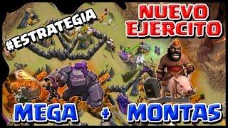 getlinkyoutube.com-NUEVA ESTRATEGIA - EJERCITO MEGA CON MONTAPUERCOS - A por todas con Clash of Clans - Español - CoC