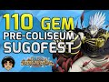 110 Gem Sugofest - Coliseum Incoming Hype! [One Piece Treasure Cruise]