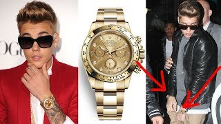Justin Bieber's Watch Collection! | COLLECTION REVIEW width=