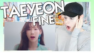 "MV Reaction l TAEYEON (태연) ""Fine"""