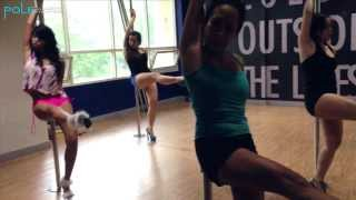 "getlinkyoutube.com-Jazz le Pole Essential Transitions: ""Body Party"" by Ciara (Beginner)"