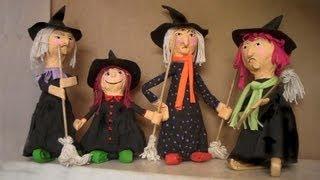 getlinkyoutube.com-Halloween - Dia das Bruxas com sucata 1