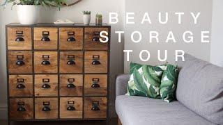 My Beauty Storage Tour | ViviannaDoesMakeup