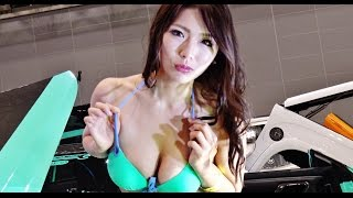 getlinkyoutube.com-NEXT AUTO SHOW 2015のセクシーコンパニオン!!
