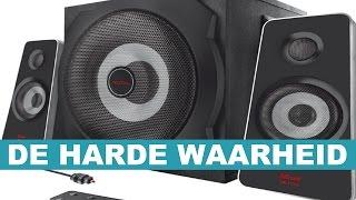 getlinkyoutube.com-Trust GXT 638 2.1 Digital Gaming speakerset test - De Harde Waarheid