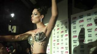 getlinkyoutube.com-Carmen Carrera performs at the finale party for RuPaul's Drag Race