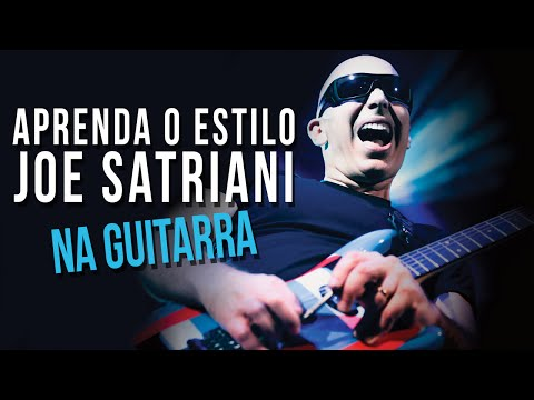 COMO TOCAR GUITARRA NO ESTILO JOE SATRIANI