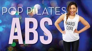 getlinkyoutube.com-Flat Abs Workout | POP Pilates for Beginners