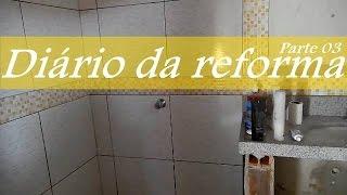 Diário Da Reforma   Banheiro Parte 03| Dica Da Nathy