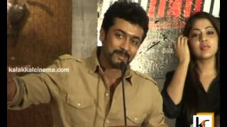 Surya at Maatraan Press Meet