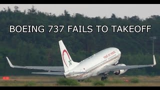 getlinkyoutube.com-PASSENGER AIRCRAFT FAILS TO TAKEOFF! BOEING 737 NEAR TAIL STRIKE & STALL ON TAKEOFF
