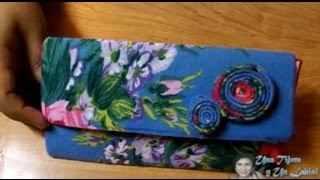 getlinkyoutube.com-Taller de Carteras - Monedero - Sin Coser