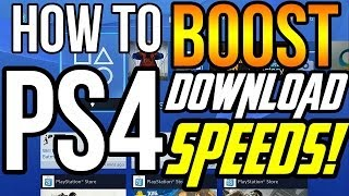 getlinkyoutube.com-How To BOOST PS4 Download Speeds!