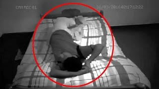 getlinkyoutube.com-Real Ghost Attack Captured on CCTV Camera | Scary Videos | Scary Ghost Videos | Paranormal Activity