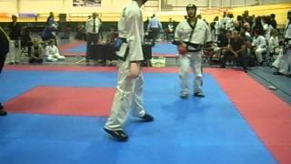 getlinkyoutube.com-Danny Dowling British Open Championships Wales 2012 Fight 1