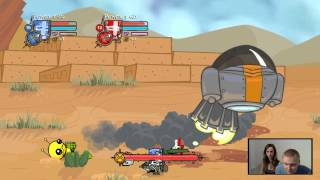 getlinkyoutube.com-Para Gra (Castle Crashers) #6 Bliskie Spotkania 3go Stopnia