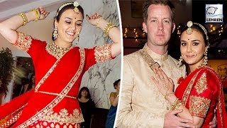 getlinkyoutube.com-Preity Zinta's WEDDING Pictures Out   LehrenTV