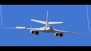 "getlinkyoutube.com-Tupolev Tu-160 ""White Swan"" Vs. Rockwell B-1 Lancer (Videos) [HD]"