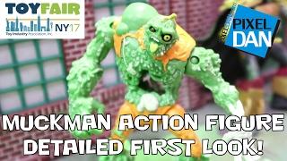 getlinkyoutube.com-Muckman Teenage Mutant Ninja Turtles Action Figure Detailed First Look at Toy Fair 2017